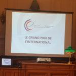 Le 4 juillet 2018 à la Mairie de Levallois Perret pour la remise du 1er Prix ex-aequo