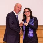 Marie-Charlotte et Jean-Dominique Giuliani, président de la Fondation Robert Schumann